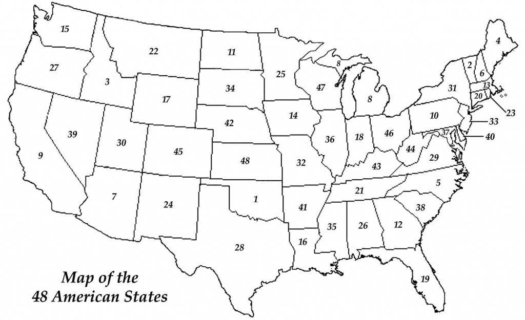 United States Map Practice Quiz Best 50 Fill In The Blank | Us Map Practice Test Printable