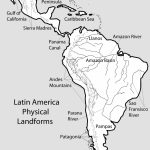 United States Map Printable Pdf Fresh South America Physical Map | Printable Physical Map Of The United States