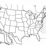 United States Map Printable Pdf New Printable Blank Usa Map | Blank Usa Map Fill In