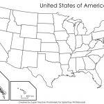 United States Map Quiz Geography Fresh Printable Blank Usa Map Blank   Blank Us Map Quiz Printable