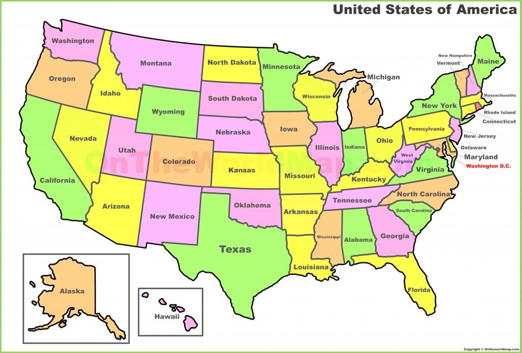 United States Map Quiz Printable New United States Map Label | Printable Us Map To Label