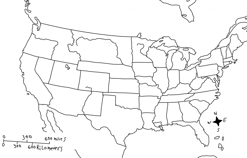 United States Map Unlabeled Fresh Us Map Rivers Blank | Blank Us Map With Rivers