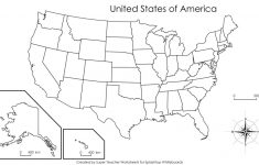 United States Map Unlabeled Refrence Blank Map Usa Us Blank Map Usa | Printable Blank Outline Map Of Usa