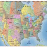 United States Map With Canada And Mexico New Usa Canada Map Toronto   Printable Us Map With Canada And Mexico