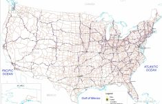United States Map With Interstates Valid Map United States | Printable United States Map With Interstates