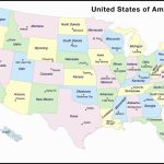 United States Map With State Capitals Printable Valid Inspirationa | Printable Blank United States Map With Capitals