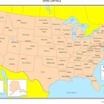 United States Map With State Names And Capitals Quiz Us Map Capitals | Printable United States Map With State Names And Capitals