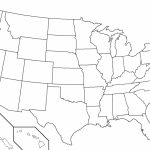 United States Outline Map Pdf Fresh Blank Map Us Blank Us Outline | Printable Blank Outline Map Of Usa