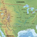 United States Physical Map | United States Physical Map Printable