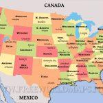 United States Political Map | Printable Big Map Of Usa
