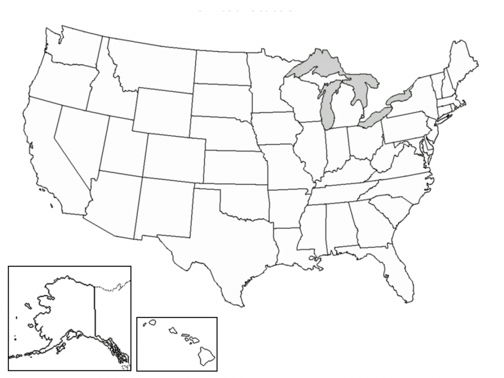 United States Printable Blank Map - Rama.ciceros.co | Printable Empty Map Of Usa