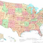United States Printable Map | Printable Map Of The United States Color