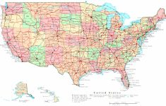United States Printable Map | Printable United States Map With Major Cities