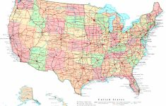 United States Printable Map | Printable Usa Map With Cities And States
