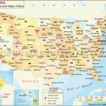 United States Printable Map With State Names Refrence Us Map With | Printable Us Map With States And Cities