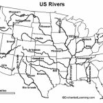 United States River Map And Cities World Maps With Rivers Labeled | Printable Map Of Us Rivers