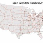 United States Road Map Free And Travel Information | Download Free | Printable United States Road Map