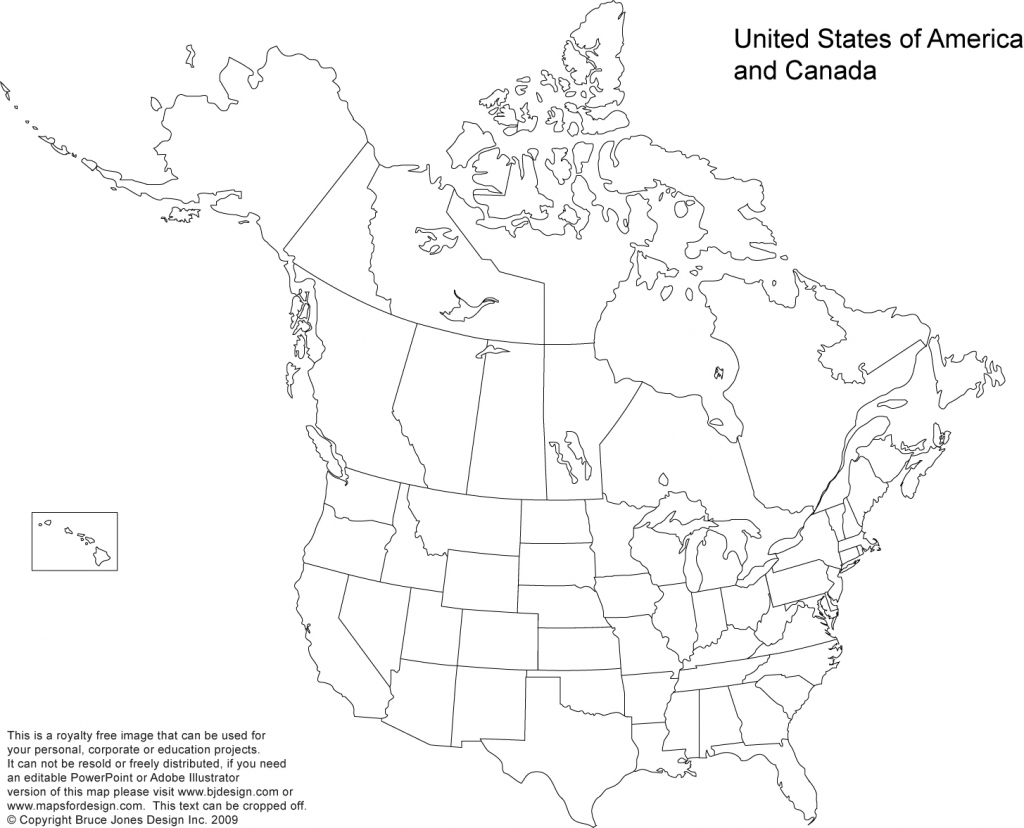 Us And Canada Printable, Blank Maps, Royalty Free • Clip Art | Blank Printable Map Of The United States And Canada