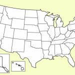 Us Geography Quiz Fill In Map Usa Map Quiz Inside Inspirational | Blank Usa Map Fill In