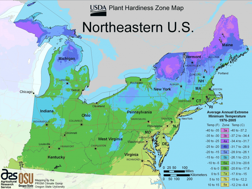 Us Growing Zone Map Printable Planting Zone Map New Top Map The | United States Climate Map Printable