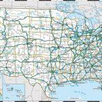 Us Highway Map Image Best United States Major Highways Map Free | Printable United States Map With Highways