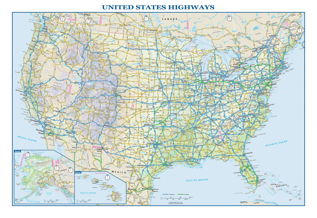 Us Interstate And Highway Map Us Interstates As A Subway Map New | Printable Us Map With Highways