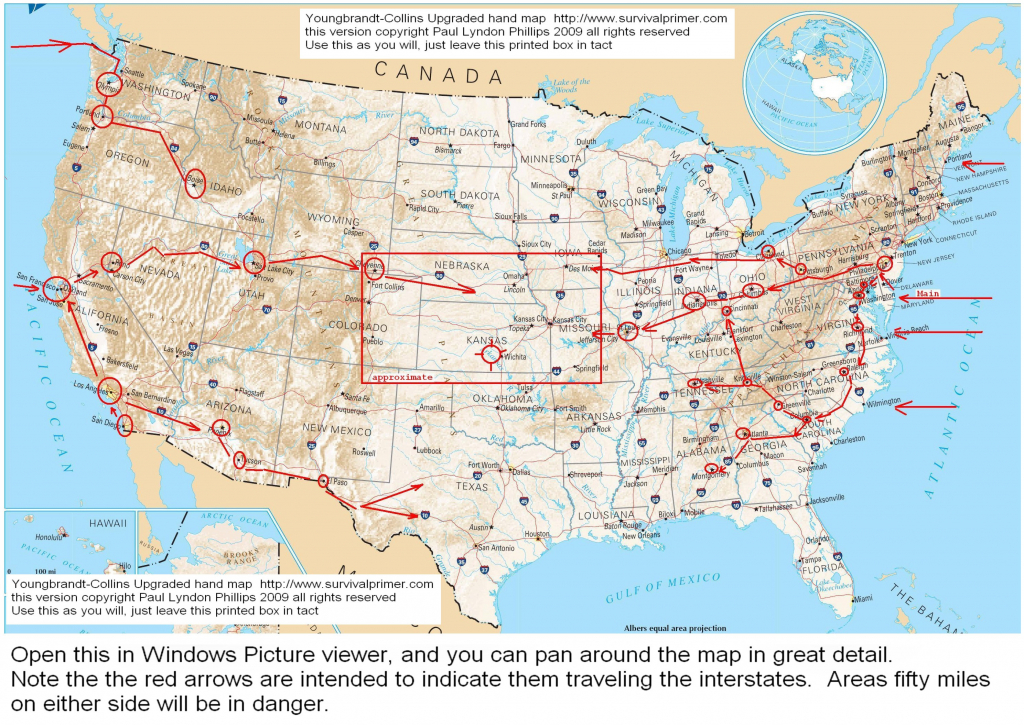 Us Interstate And Highway Map Usa Interstate Highways Map Refrence | Printable Us Map With Interstate Highways