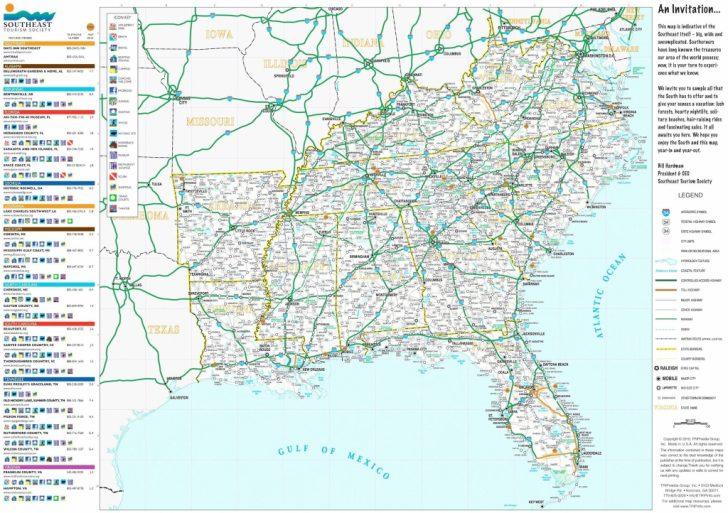 Printable Map Of Us Interstates