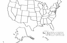 Us Map Color The States Awesome Printable Map The United States | Printable Us Map For Coloring