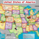 Us Map For Kid | Globalsupportinitiative | Printable Kid Friendly Map Of The United States