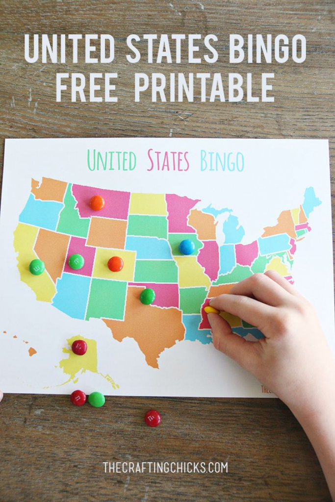 Us Map Game {Free Printable Us State Map} | Summer Fun | Geography | Free Printable Us Map For Kids