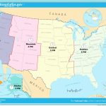 Us Map Of States Timezones Map Of U S Time Zones 3 Save Printable | Printable Map Of The United States Time Zones