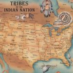 Us: Map Of The Native American Tribes | Printable Map Of Native American Tribes