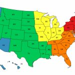 Us Map Separated Into Regions Regionalmap Beautiful Top Us Map | Printable Us Map Regions