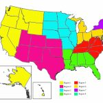 Us Map Separated Into Regions Regionalmap Luxury Best Us Map | Printable Us Map By Regions