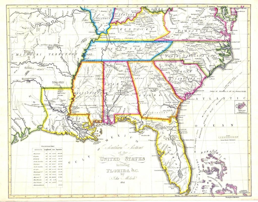 Us Map Southeast Printable Map Of Se Usa 1 Inspirational Us Map | Printable Map Of Se United States