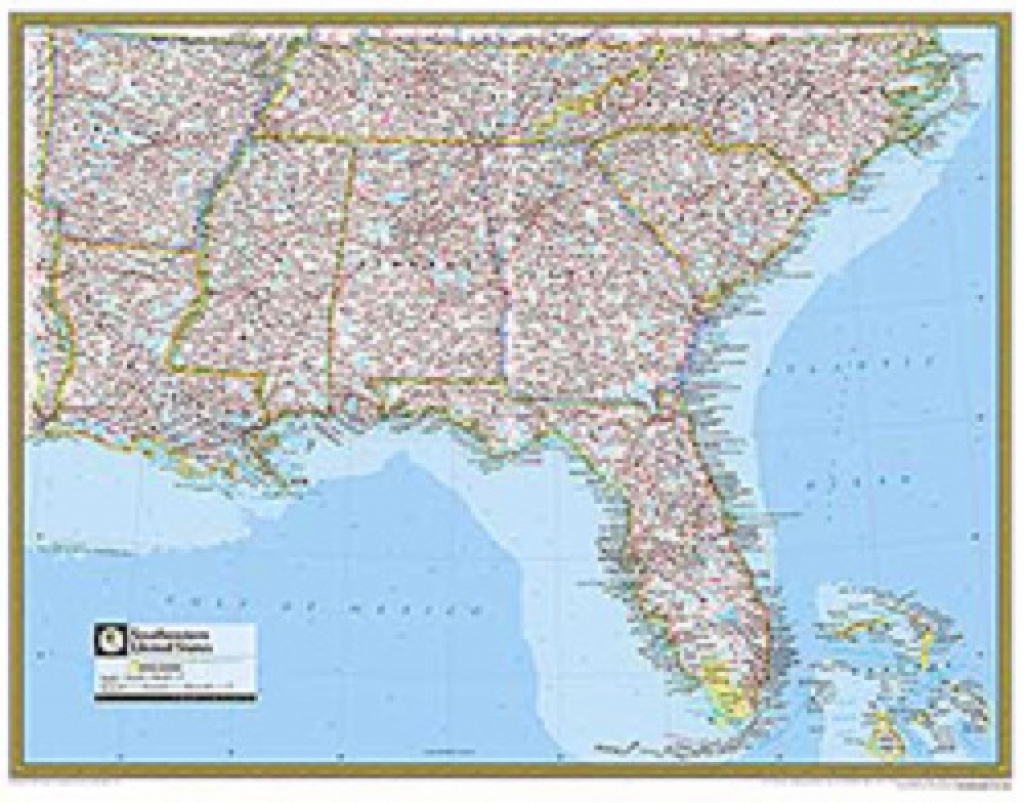 Us Map Southeast Printable Map Of Se Usa 1 New United States Map | Printable Map Of Southern United States