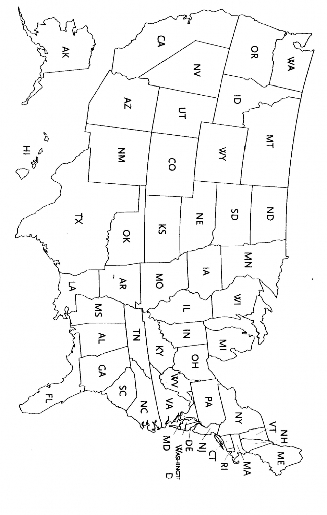It is a photo of Lucrative State Abbreviations Printable