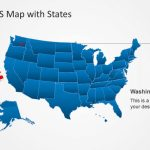 Us Map Template For Powerpoint With Editable States   Slidemodel | Blank Us Map For Powerpoint