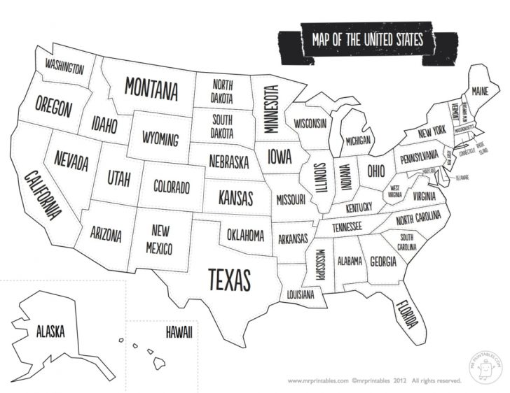 Printable Map Of The Southern United States