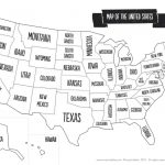 Us Map The South Printable Usa Map Print New Printable Blank Us | Printable Usa Map States