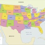 Us Map With Cities Printable Us Political Map Awesome Printable Us | Printable Us Political Map