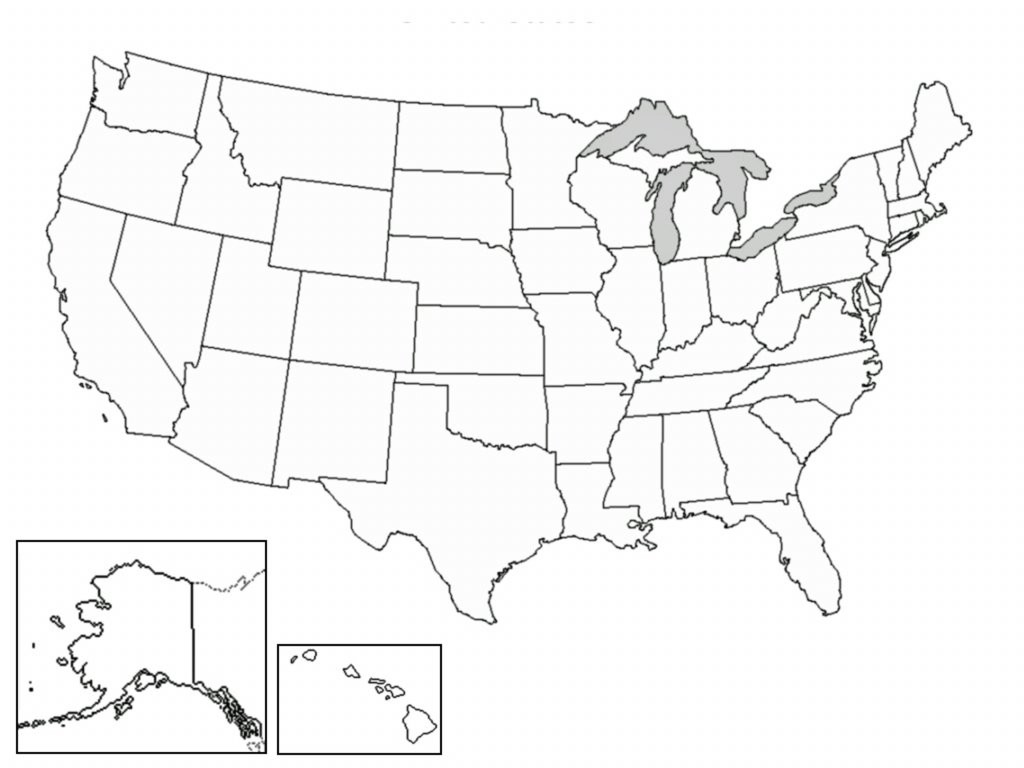 It is a photo of Invaluable Blank Usa Map Printable