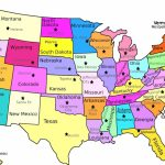 Us Map With State And Capitals Labeled | Globalsupportinitiative | Printable Us Map With States And Capitals Labeled