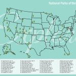 Us National Park Map Print / Travel Map / 11X17 Illustrated   Etsy   11X17 Printable Us Map