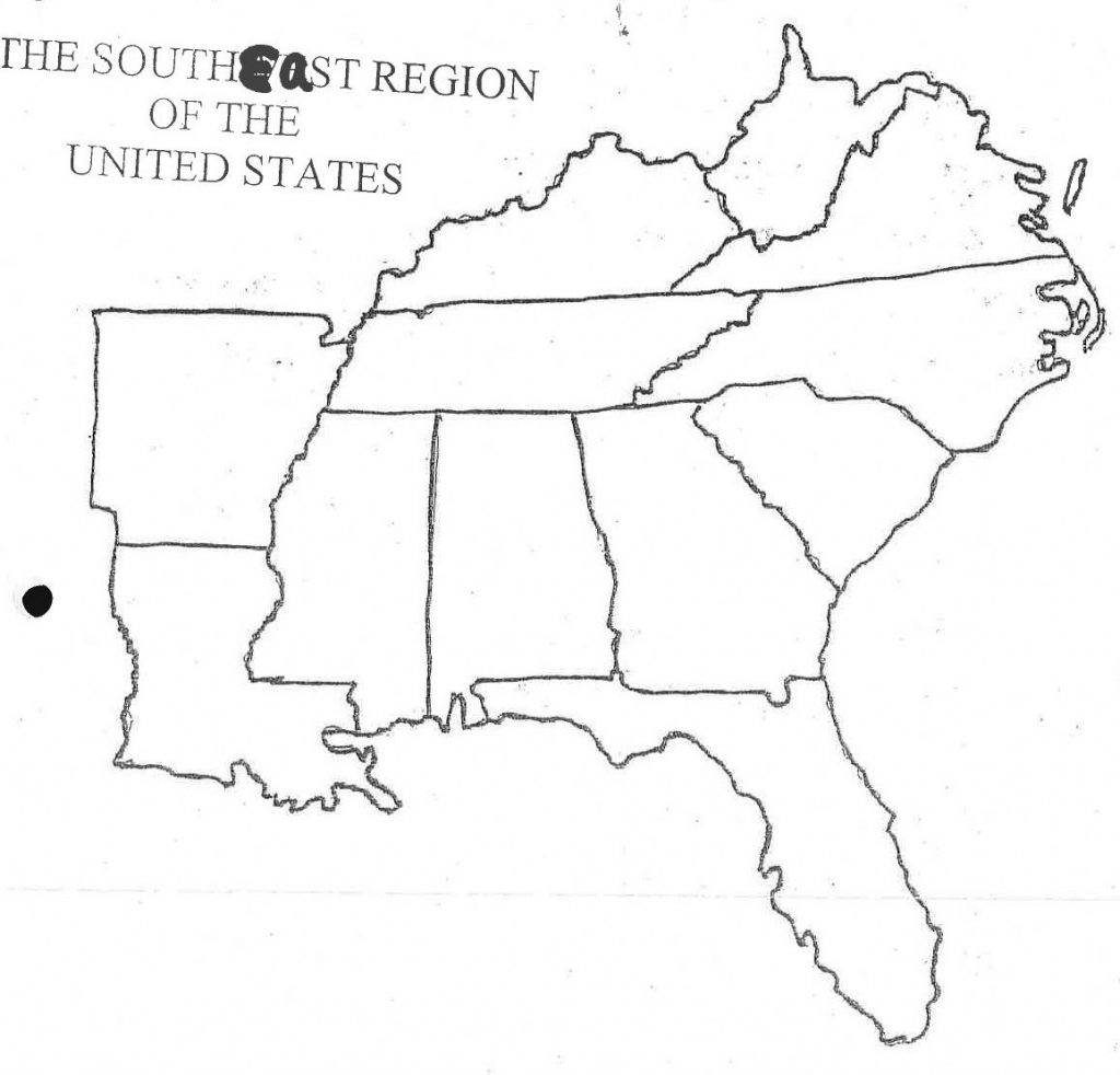 Us Southeast Region Blank Map South East Random Free Downloads Maps | Printable Blank Map Of Eastern United States