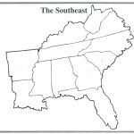 Us Southeast Region Map Quiz Save Southeast Us Map Quiz Refrence Usa | Printable Map Of Southeastern Usa
