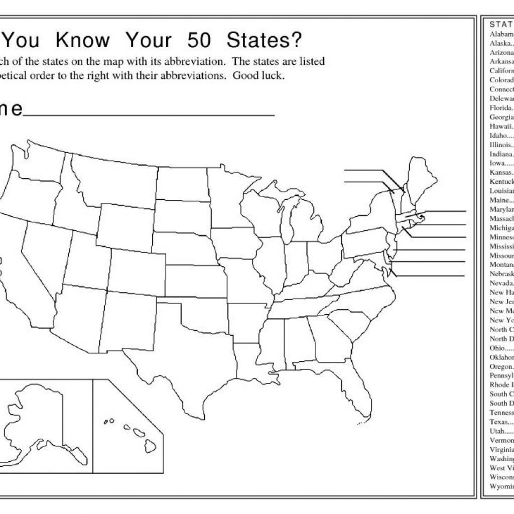 Us State Map Quiz Printable Lizard Point | Us State Map Quiz Printable