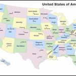Us State Map With Capitols Us States Capitals Map Luxury Awesome | Printable Us Capitals Map