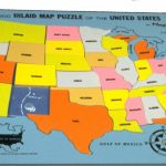 Us States Map Game Puzzle   Maplewebandpc | Printable Map Of Usa Jigsaw Puzzle